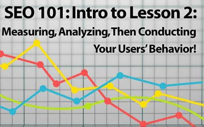 SEO Series: Lesson 2 INTRO—Measure, Analyze, ENGAGE!