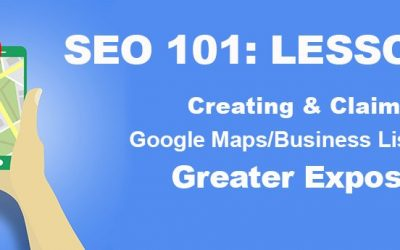 Lsn 5: SEO 101—More Exposure with Claimed Map Listings